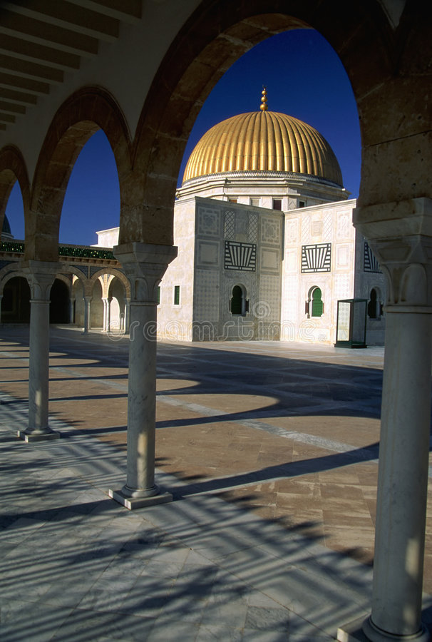 Monastir Mosque royalty free stock images