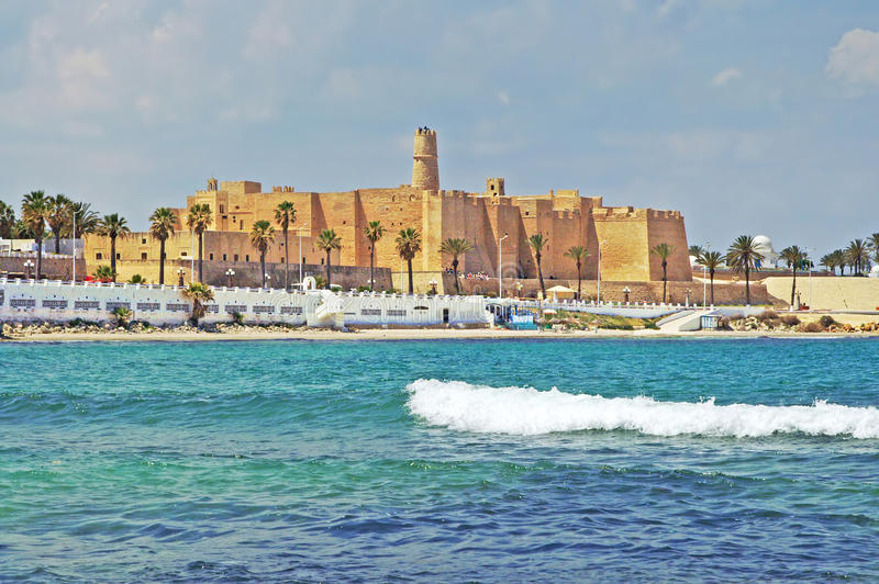 Monastir, Tunesië stock foto's