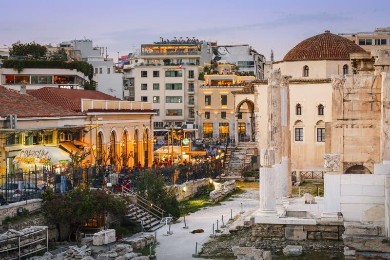 Monastiraki, Athene royalty-vrije stock fotografie