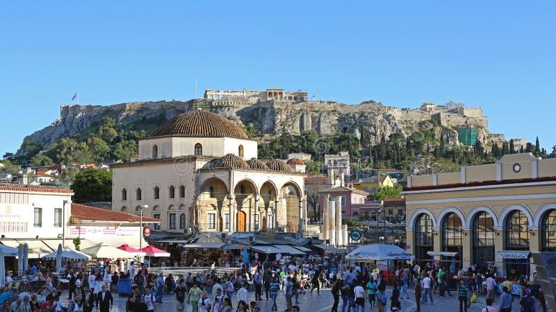 Monastiraki Athene royalty-vrije stock foto