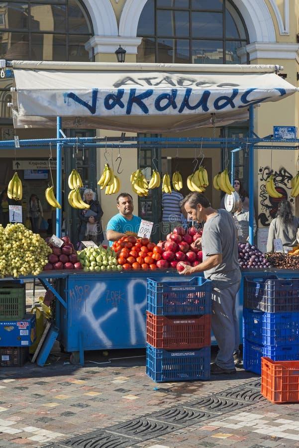 Monastiraki-Quadrat lizenzfreies stockbild