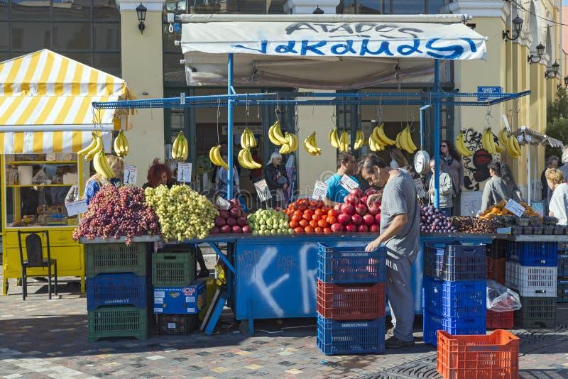 Monastiraki-Quadrat lizenzfreies stockfoto