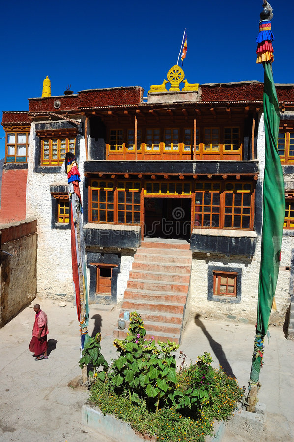 monastry royalty free stock images