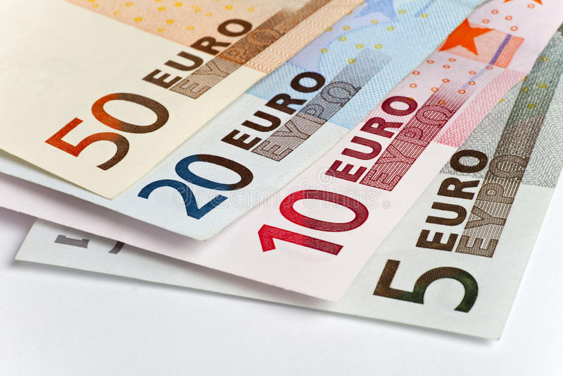 Monay Euro lizenzfreie stockfotos