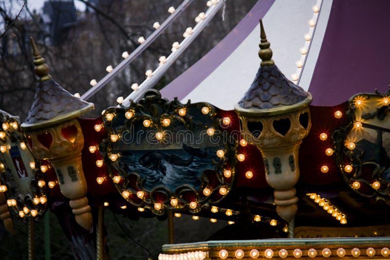 monceau parc巴黎 库存照片