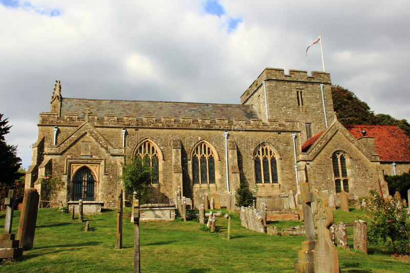 monchelsea церков boughton стоковые фото
