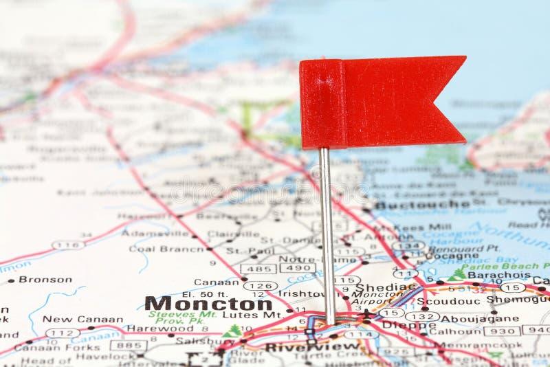 Moncton fotografia stock