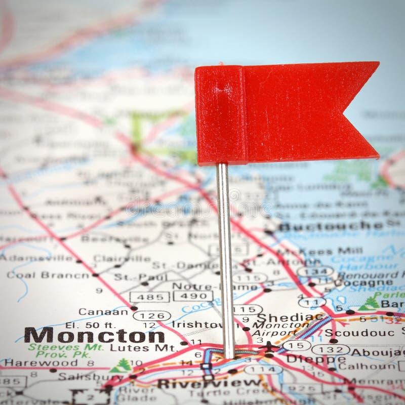 Moncton, Canadá fotografía de archivo