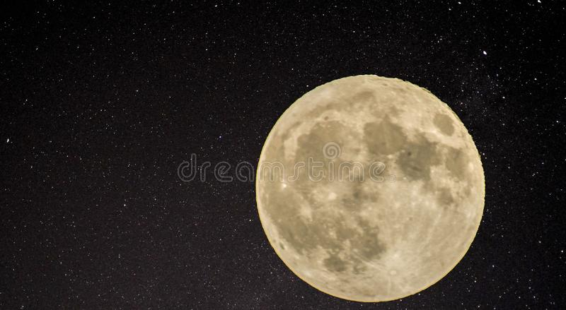 Mond stockbilder