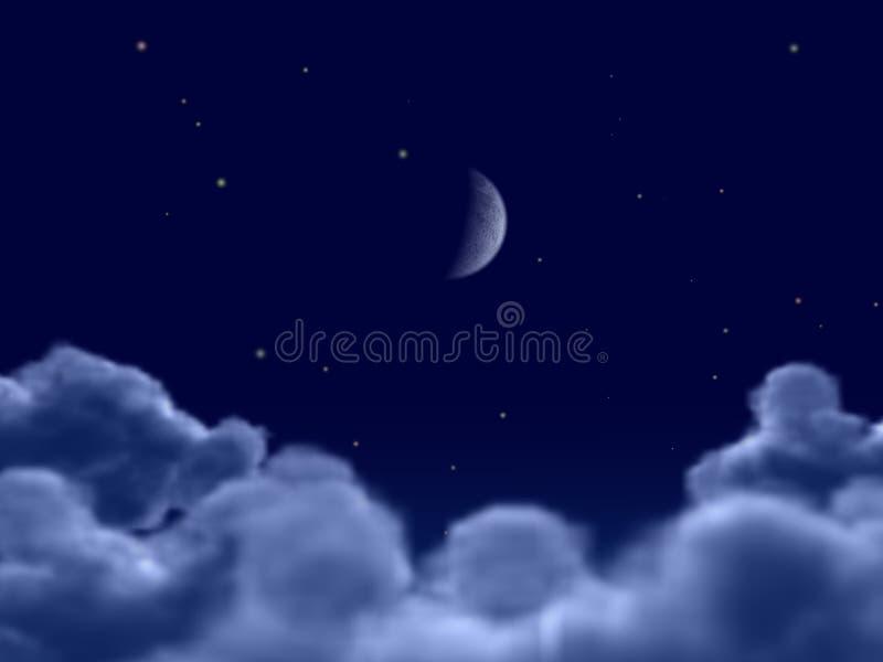Mond lizenzfreie abbildung