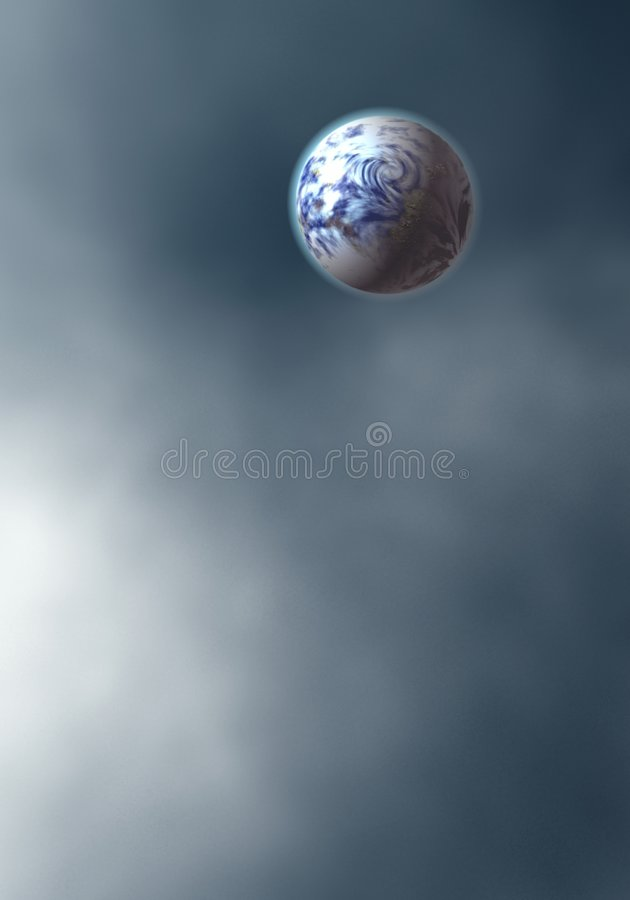 Mond. vektor abbildung