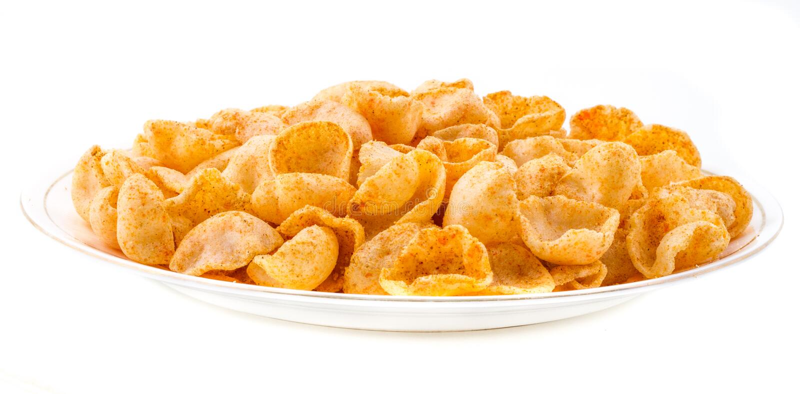 Mond Chips Food lizenzfreies stockfoto