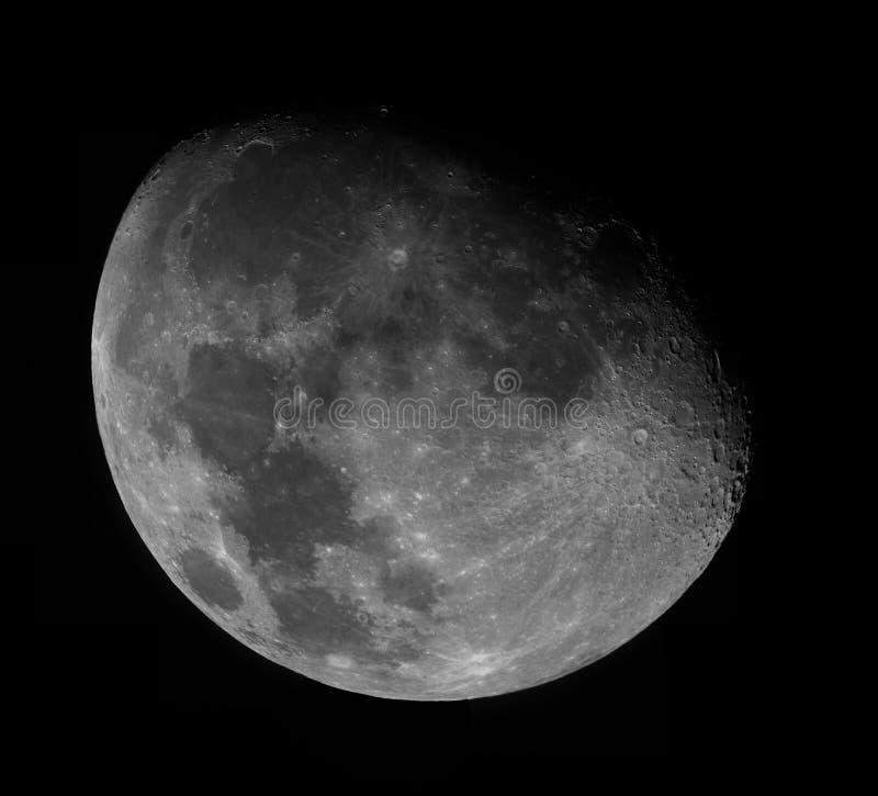 Mond in der hohen Auflösung stockbilder