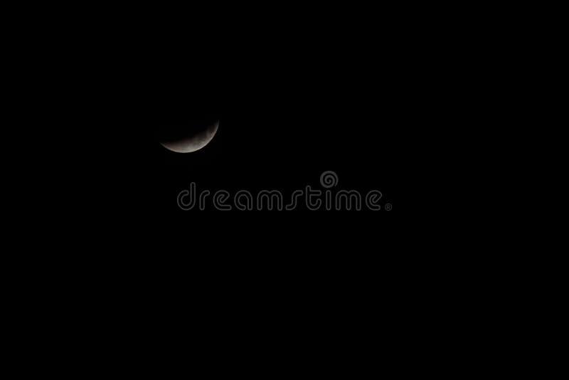 Mond-Eklipse lizenzfreies stockbild