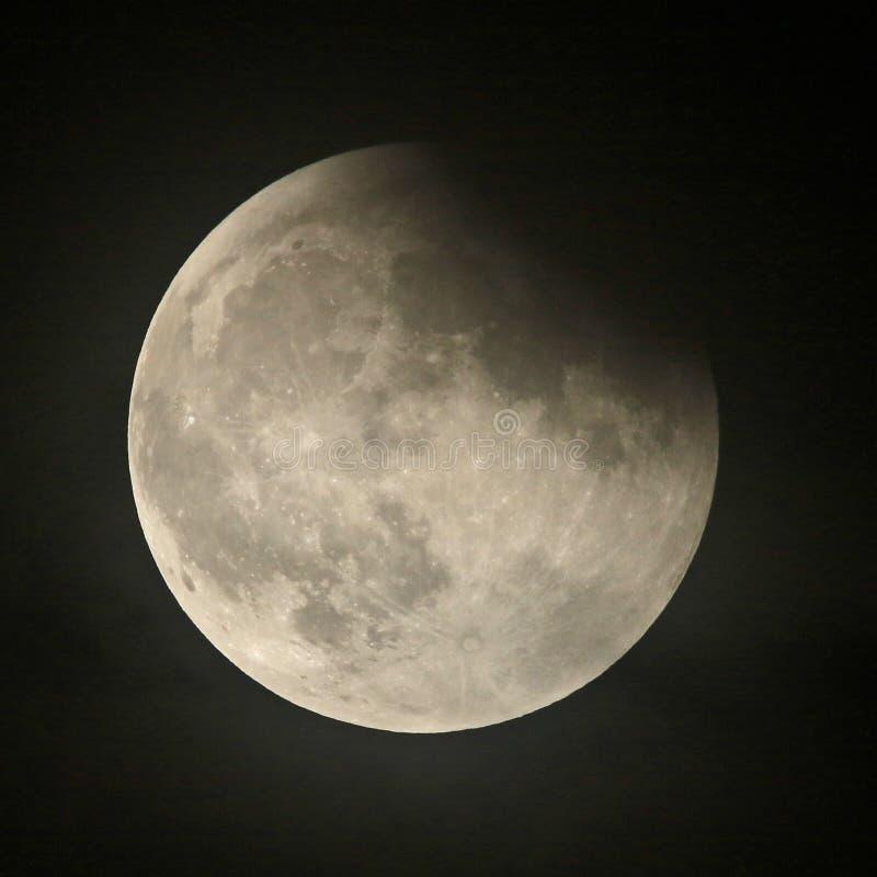 Mond-Eklipse stockfotografie