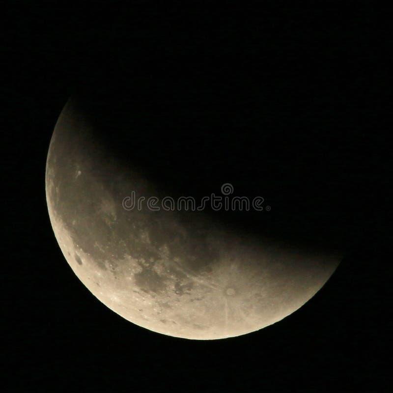 Mond-Eklipse lizenzfreies stockfoto