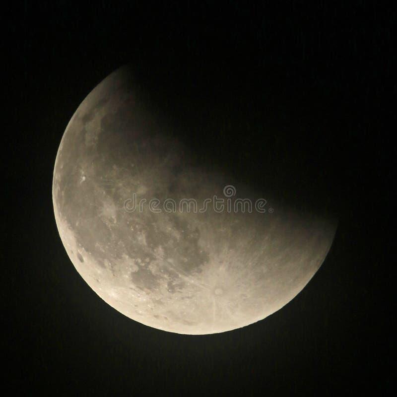 Mond-Eklipse stockfoto