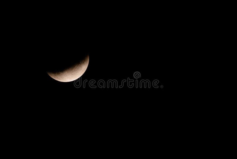 Mond-Eklipse lizenzfreie stockfotografie