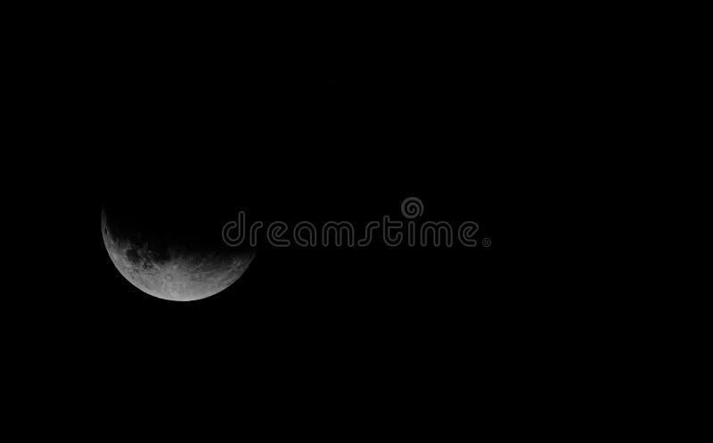 Mond-Eklipse stockbild