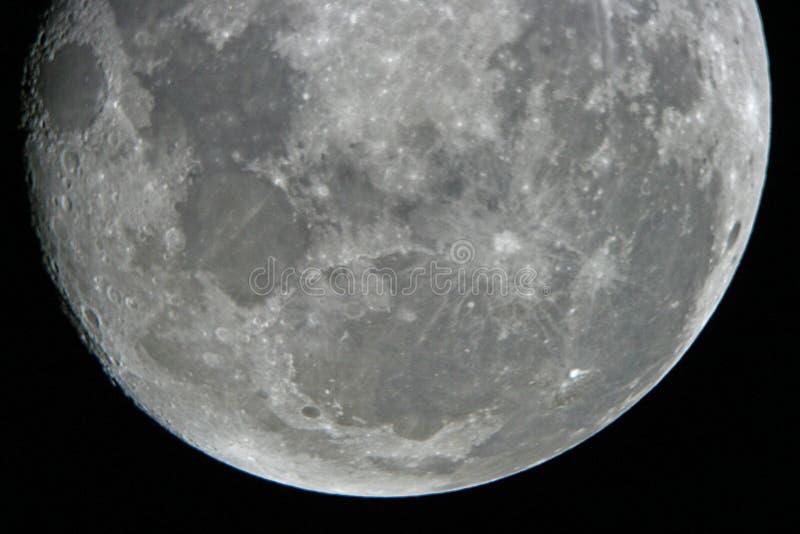 Mond nachts lizenzfreie stockbilder
