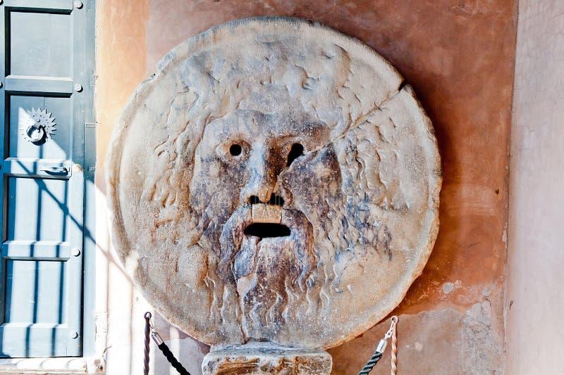 Mond van waarheid in Rome royalty-vrije stock fotografie