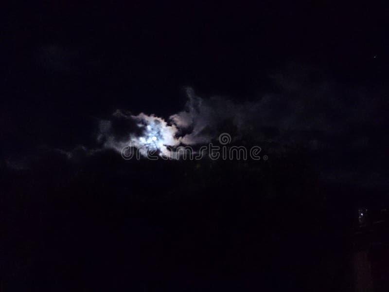 Mond von Guatemala-Stadt stockfoto