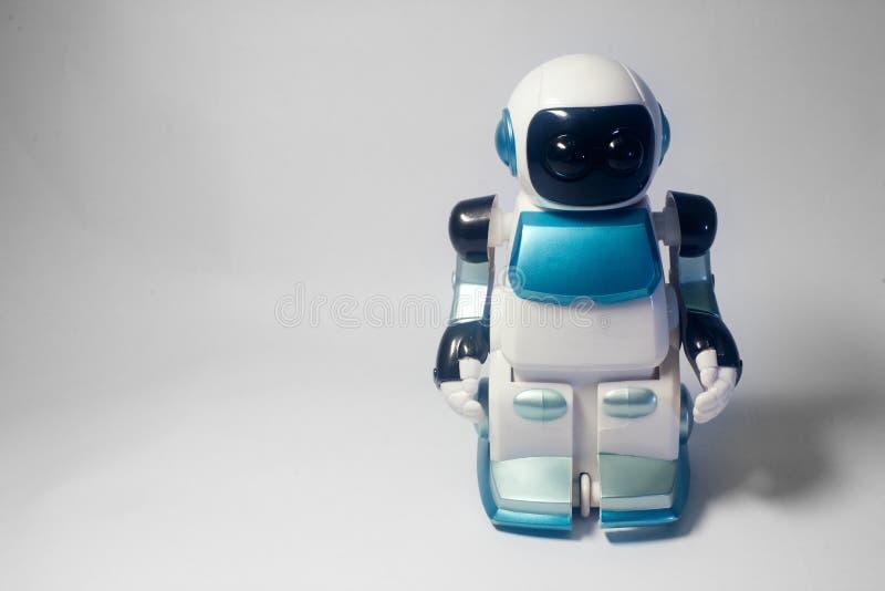 Mond-Wanderer-Roboterspielwaren stockfotos