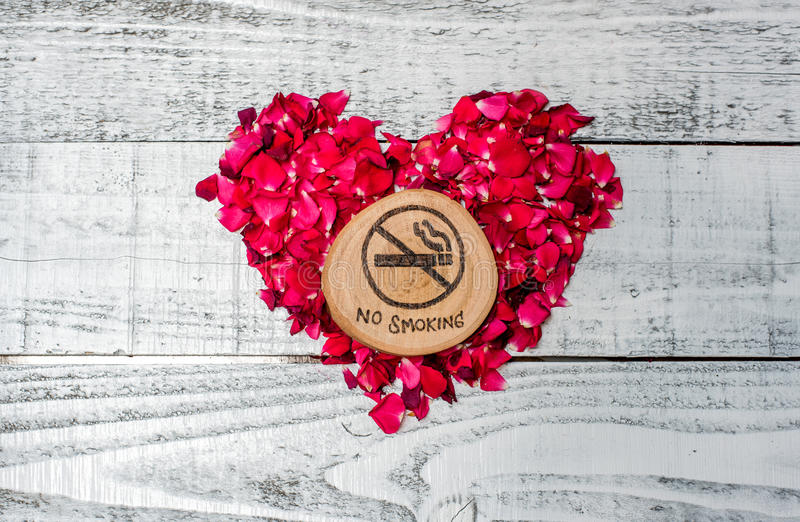 Monde aucun jour de tabac, non-fumeurs image libre de droits