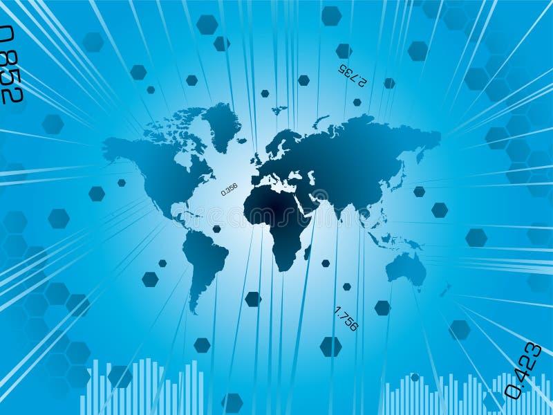 Monde b d'affaires illustration libre de droits