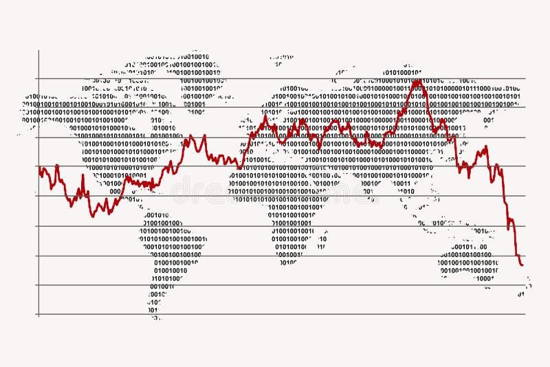 monde binaire illustration stock