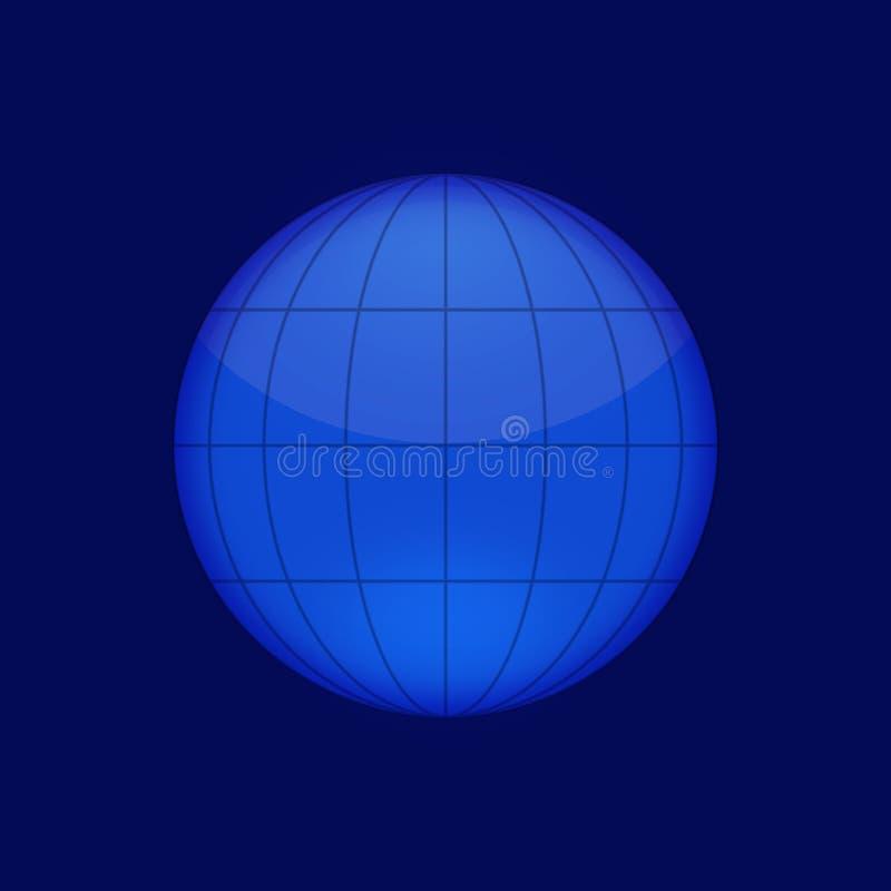 Monde blanc illustration libre de droits