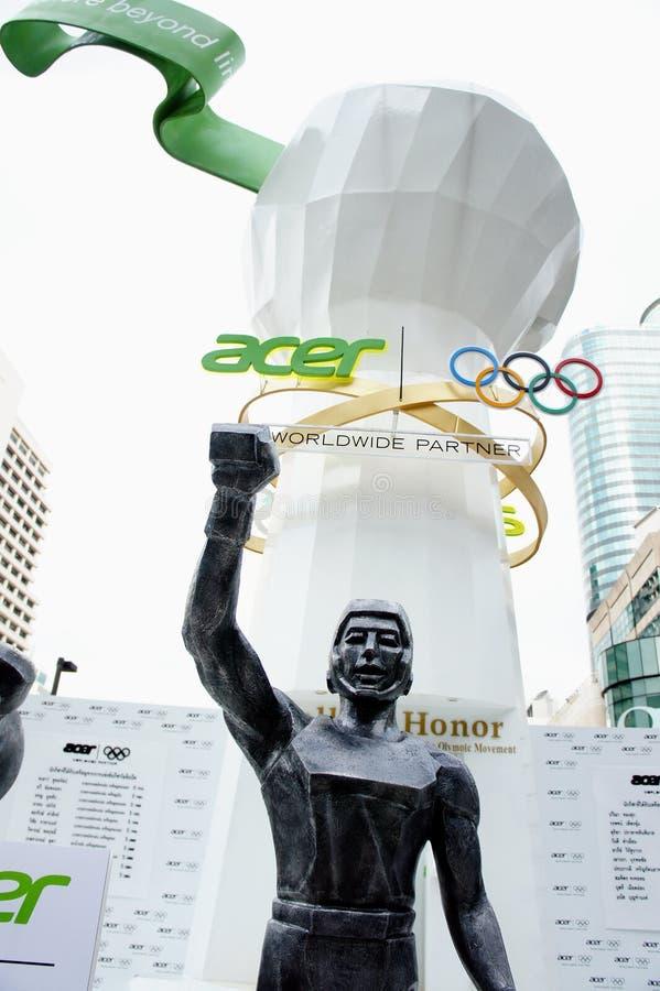 Monde central, borne limite de Jeux Olympiques d Acer