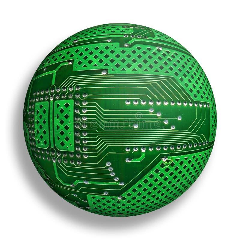Monde cybernétique illustration libre de droits