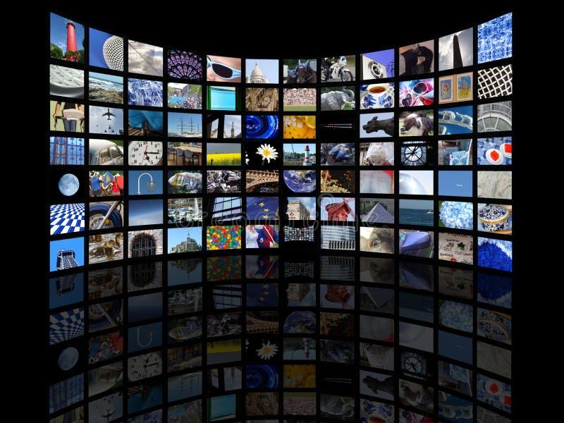 monde d'écran images libres de droits