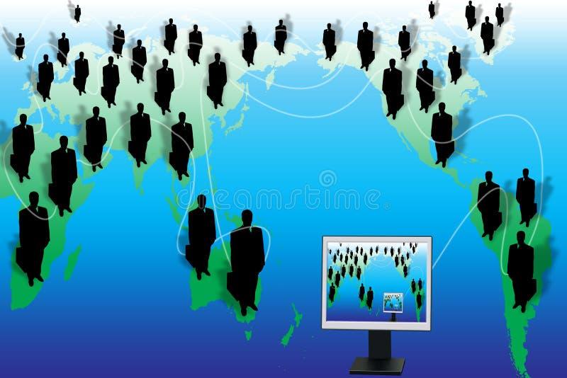 Monde d'affaires illustration libre de droits
