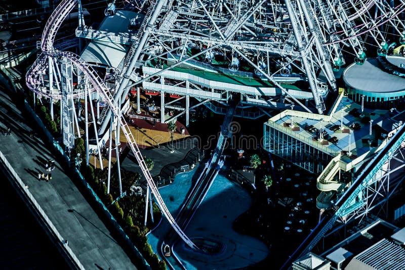 Monde de Cosmo évident de la tour de point de repère de Yokohama photos stock