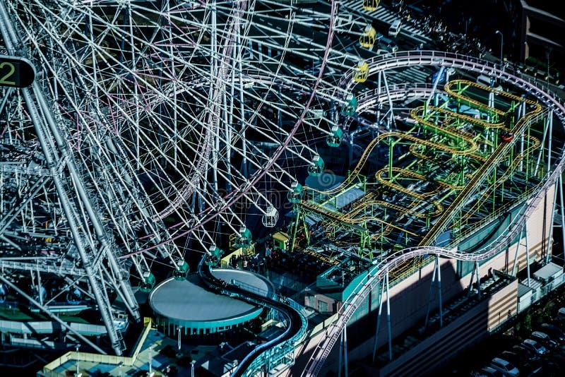 Monde de Cosmo évident de la tour de point de repère de Yokohama photo stock
