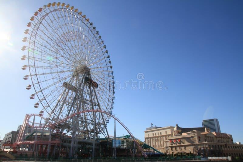 Monde de cosmo de Yokohama image libre de droits