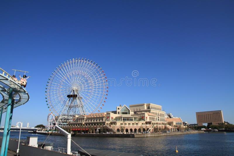 Monde de cosmo de Yokohama photographie stock