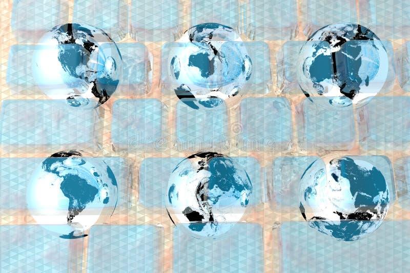 Digital World Photographie Stock