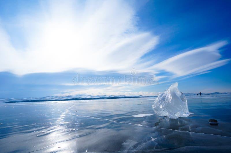 Monde de glace photographie stock libre de droits