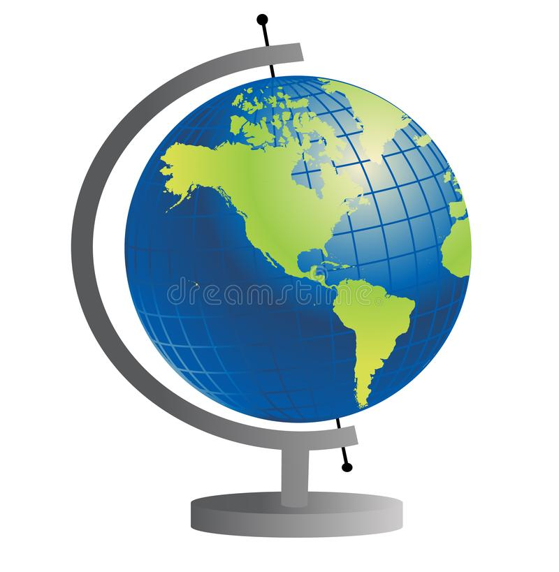 Globe du monde photos stock