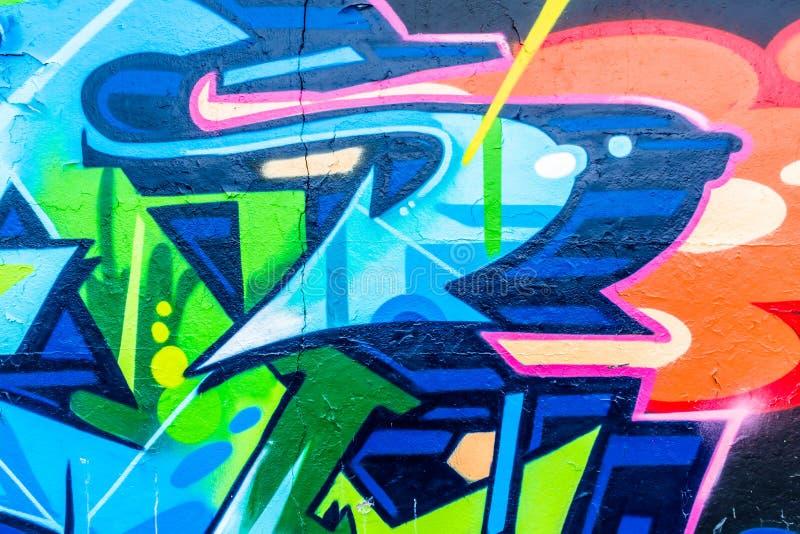 Monde de graffiti illustration de vecteur