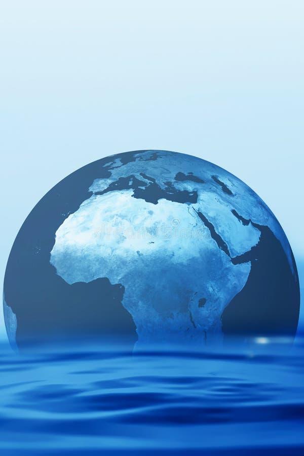 monde de l'eau photographie stock