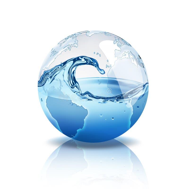 Monde de l'eau illustration libre de droits