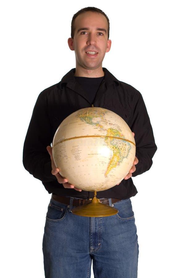 monde de offre d'homme images stock