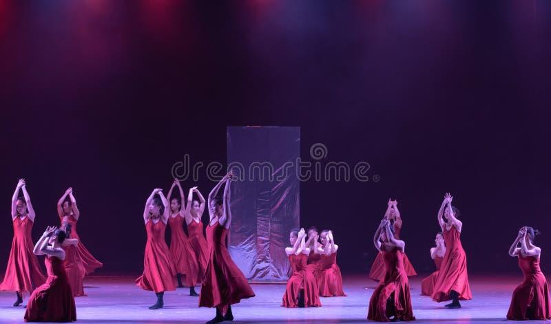 """Monde de partie-Le d'obtention du diplôme dans le  de shelter†de dance""""No du ` s de miroir-Huang Mingliang images stock"""