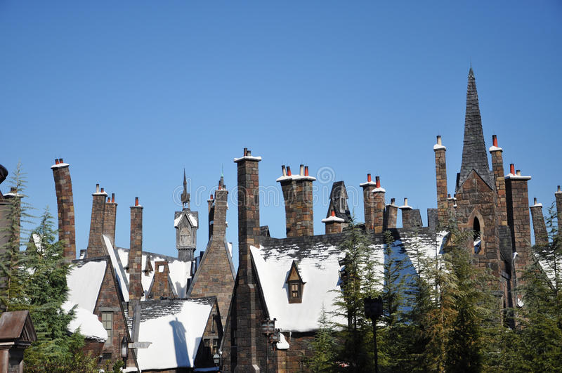 Monde de Wizarding de Harry Potter photos libres de droits