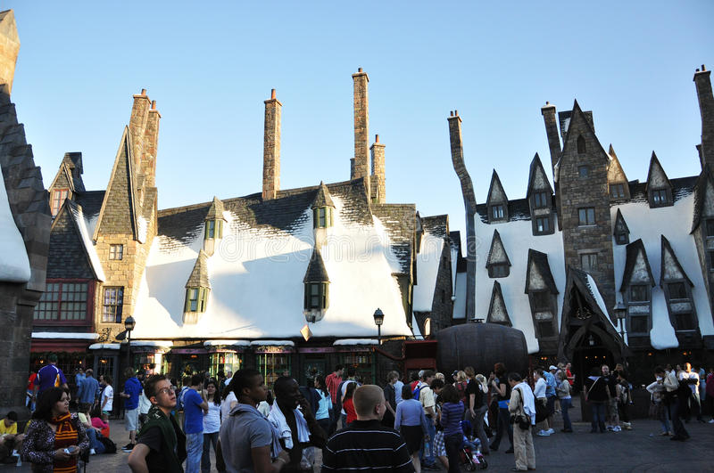 Monde de Wizarding de Harry Potter photo stock