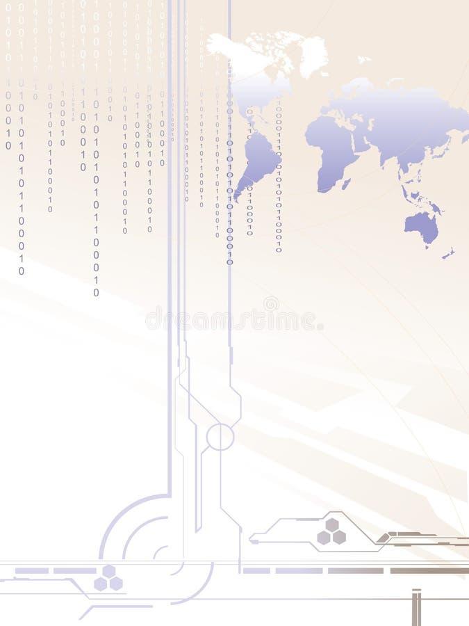 monde digital illustration libre de droits